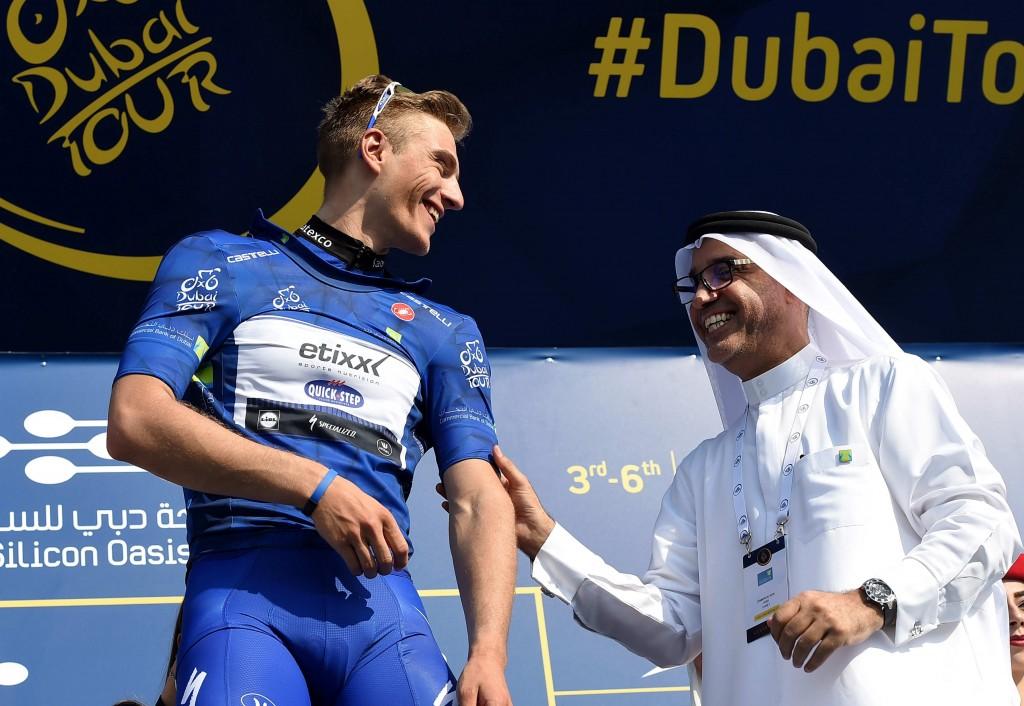 Cycling: Dubai Tour 2016; Dubai-Fujairah