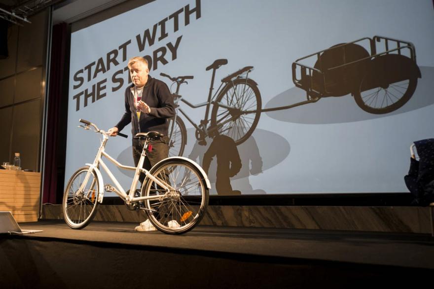 Από την πρώτη επίσημη παρουσίαση του ποδηλάτου της IKEA