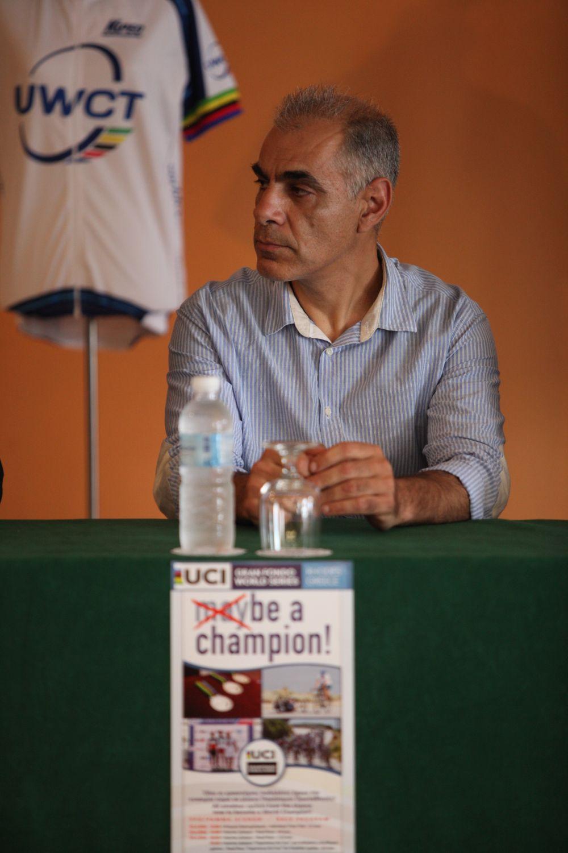 Γιώργος Λεβεντάκης, Διευθυντής της διοργάνωσης.