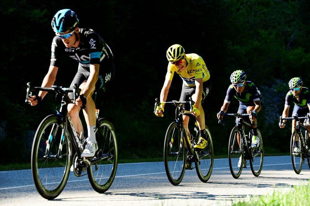 Tour de France 2016 - 17/07/2016 - Etape 15 - Bourg-en-Bresse/ Culoz (160 km) - Alexander FROOME (TEAM SKY) και Nairo Alexander QUINTANA (MOVISTAR TEAM)
