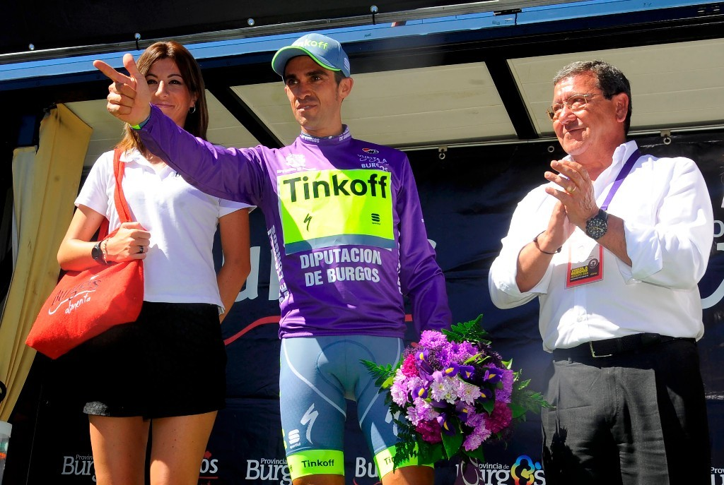 Ο Contador, ήταν ο νικητής της Vuelta a Burgos. Photο: Bettini Photo