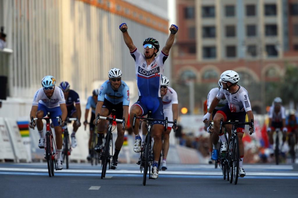 Campionati del Mondo Doha 2016 - Road World Championship 2016 - Strada Uomini Elite 257,3 km - 16/10/2016 - Peter Sagan (Slovacchia) - foto Luca Bettini/BettiniPhoto©2016