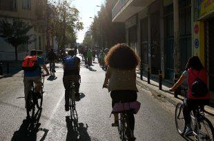 Στην Αθήνα με ποδήλατο