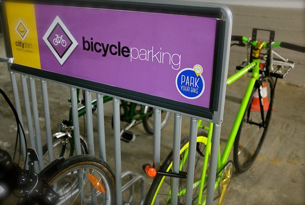 Στάθμευση ποδηλάτου