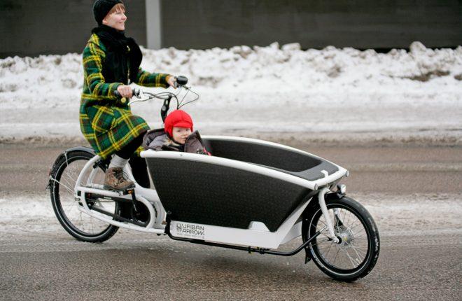 Cargo E bike