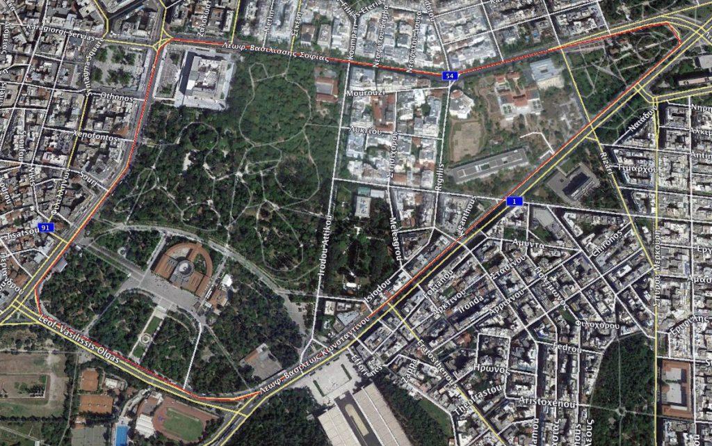 Η διαδρομή του 1ου Athens International Criterium