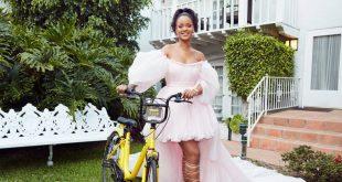 Rihanna ofo bike sharing