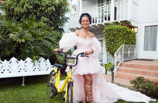 Rihanna ofo bike sharing