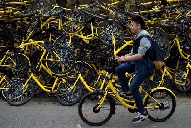 bike sharing κινέζικο