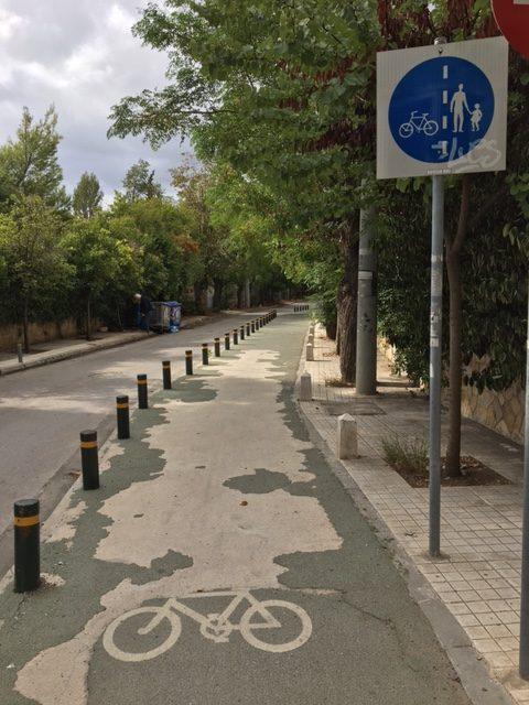 Ποδηλατόδρομοι κηφισιάς