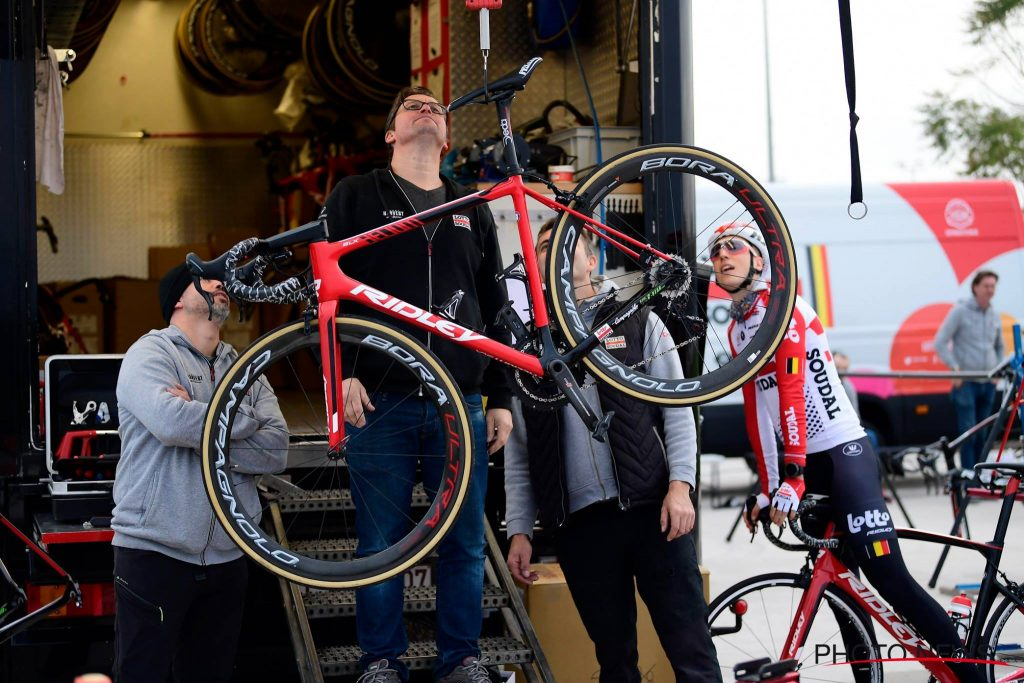 LOTTO SOUDAL RIDLEY BIKE