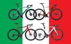 ιταλικά ποδήλατα δρόμου