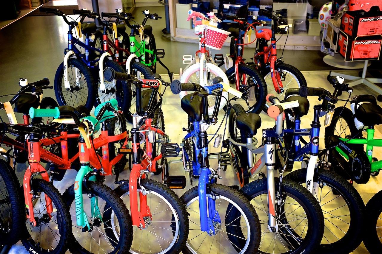 παιδικό ποδήλατο μέγεθος