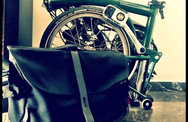 Με ποδήλατο στη δουλειά