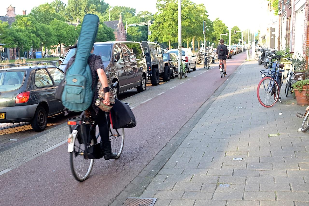 ποδήλατο στην πόλη