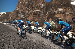 Zwift Movistar E Team