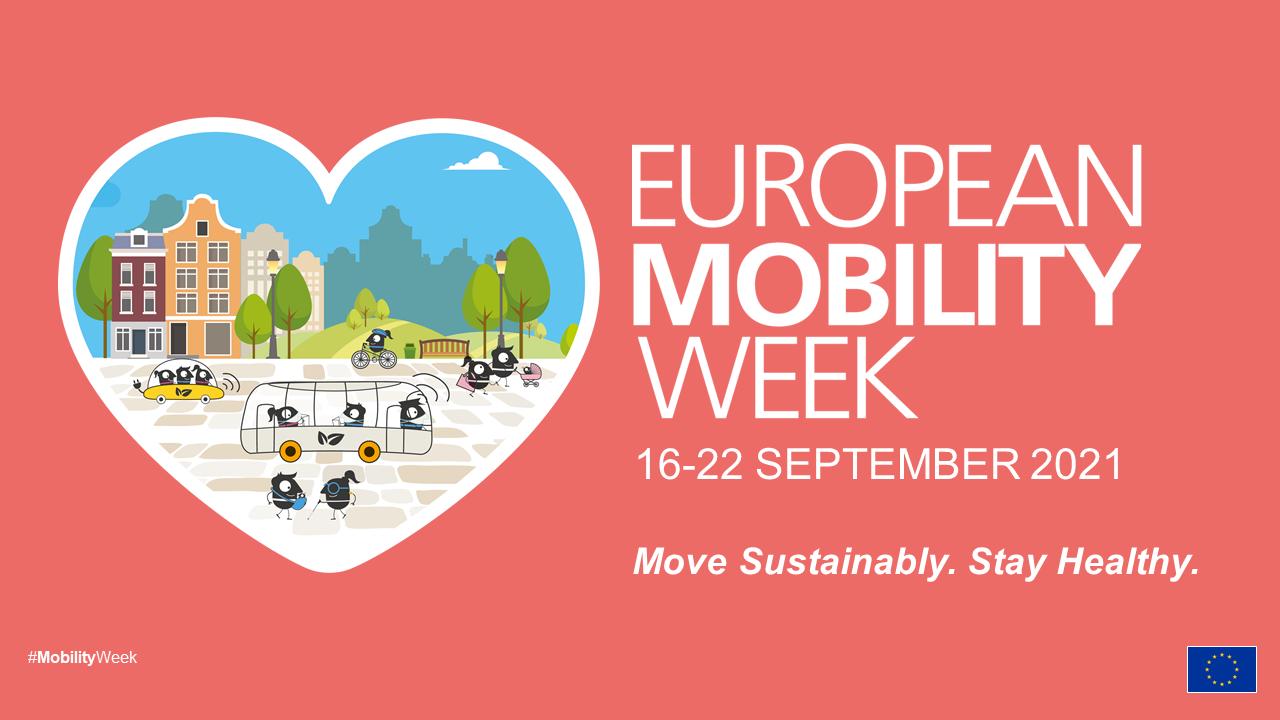 Ευρωπαϊκή εβδομάδα κινητικότητας 2021